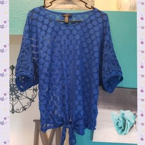 🦋Blue Alfani Blouse